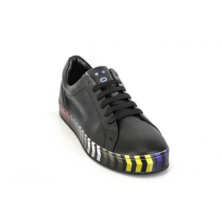 Pantofi Sneakers piele multicolori2