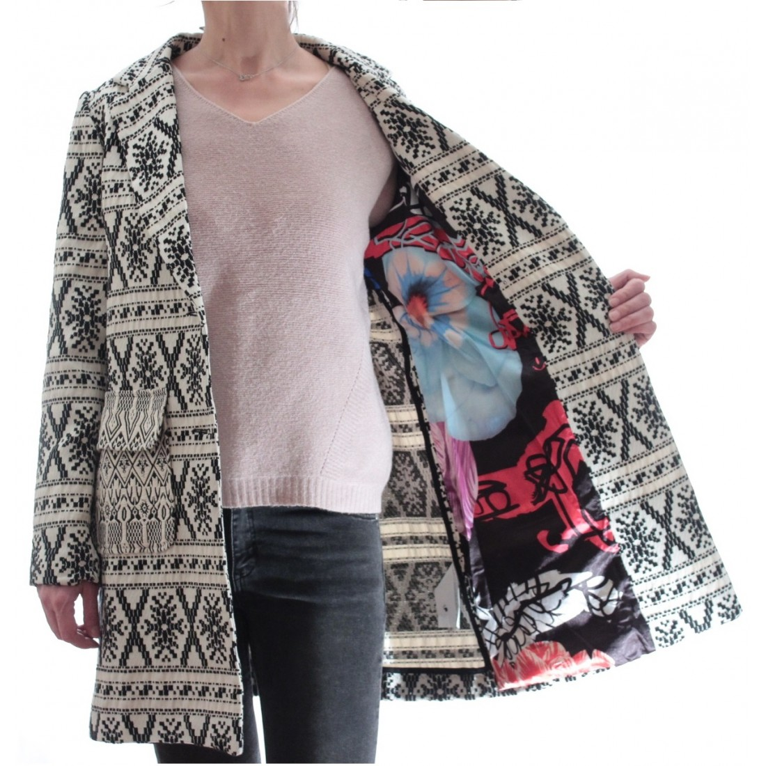 Palton Dama Desigual