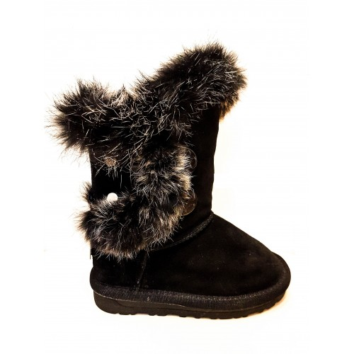 Cizme Copii Tip Ugg Bailey Button