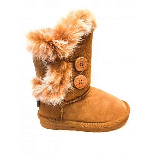 Cizme Copii Tip Ugg Bailey Button 2