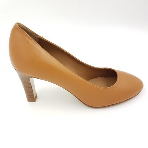 Pantofi dama caramel