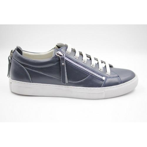 Pantofi barbati smart casual albastru