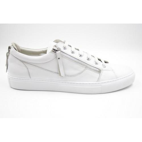Pantofi smart casual alb