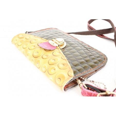 Mini geanta piele