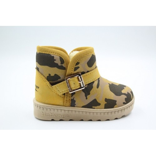 Cizme copii army yellow