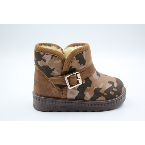 Cizme copii army brown