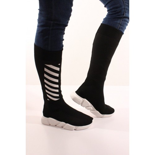 Cizme socks striped