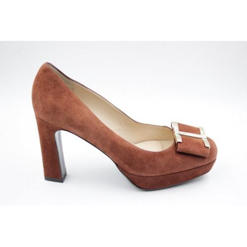 Pantofi dama bow