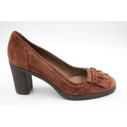 Pantofi dama fringe