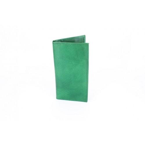 Portofel piele verde V941